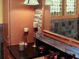 bathrooms design ideas arts and crafts bathrooms hgtv regarding