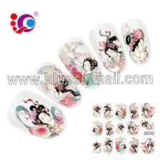 popular design gold outline led nail stickers christmas nail art