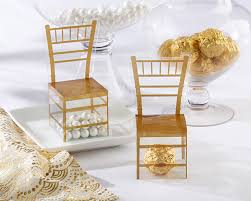 kate aspen wedding favors gold chiavari gold chair favor box set of 24 chiavari chairs