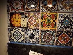 mexican tile kitchen backsplash talavera tile backsplash ideas backsplashes