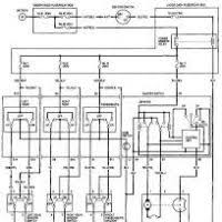 96 honda civic lx power window wiring diagram honda civic horn