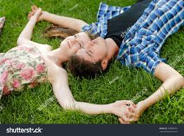 young happy beautiful couple man woman stock photo 109886162