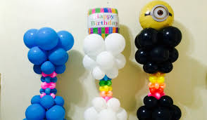 balloon columns fancy balloon columns unique party decorations