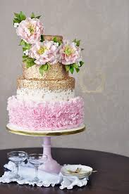 Wedding Cake Flower Perfect Blooms 5 Pretty Peony Cakes That Will Inspire