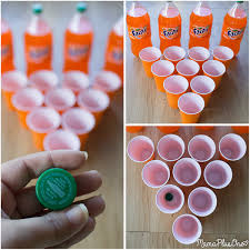 super easy halloween party games you can play using soda bottles
