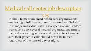 Telemarketing Resume Job Description by Medical Call Center Job Description 3 638 Jpg Cb U003d1387471493