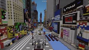 New York City Map For Minecraft by Minecraft New York