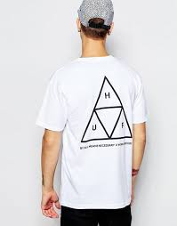 huf shoes store huf triple triangle t shirt white men huf