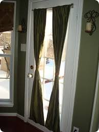 Draperies For French Doors Best 25 Magnetic Curtain Rods Ideas On Pinterest Magnetic
