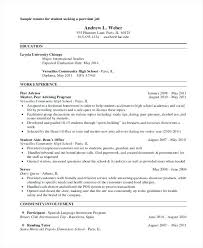 sle resume for part time job in jollibee houston sle resume for part time job part time job how to write a