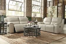ivory leather reclining sofa ivory sofas loveseats and chaises ebay
