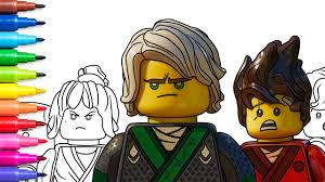 lego ninjago movie coloring pages coloring book video for kids