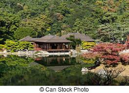 beautiful garden in japan stock photography search pictures and