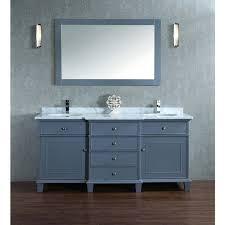 stufurhome cadence grey 72 inch double sink bathroom vanity with