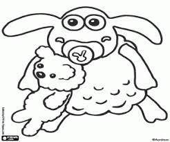 shaun sheep coloring pages printable games timmy diy