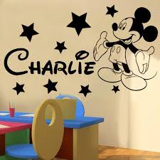 Stickers For Walls In Bedrooms by Best 20 Mickey Mouse Bedroom Ideas On Pinterest Mickey Mouse