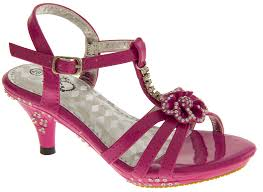 Wedding Shoes Size 9 New Girls Toddlers Diamante Kitten Heel Wedding Party Heels Size 8