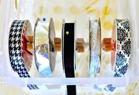 ribbon dispenser ribbon holder dispenser ribbon dispenser rack rolls wooden ribbon