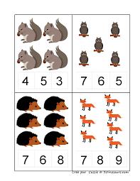 herfst tellen 2 3 podzim pinterest spanish numbers and math
