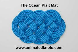 tutorial on plait mat tying amazing site for knots from