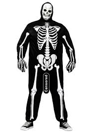 skeleton halloween costumes for adults plus size skele costume