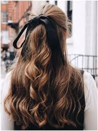 hair ribbon laço no cabelo hairstyle hair inspiration hair