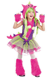 kids fur ocious monster costume
