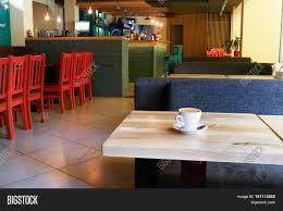 table coffee cup modern restaurant image u0026 photo bigstock