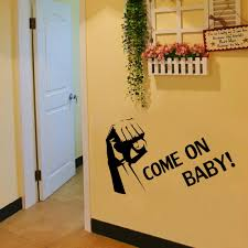 aliexpress com buy come on baby wall stickers english