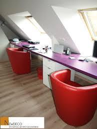 bureau sous pente bureau sur mesure bureau sous combles bureau