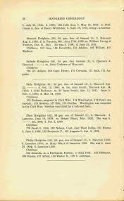 index of names in hancock maine hodgkins genealogy