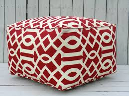 Ottoman Design Furniture Modern Pouf Ottoman In Stylish Design And Motif For