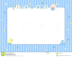 Borders For Invitation Cards Free Baby Boy Clip Art Border Google Search Shower Pinterest