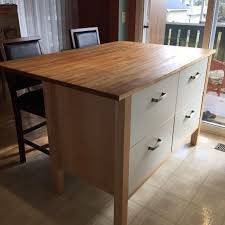 kitchen islands for sale ikea find more ikea varde kitchen island discontinued for sale at up