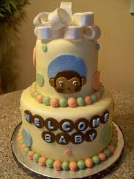 monkey baby shower cake monkey theme cakes for baby showers design dazzle