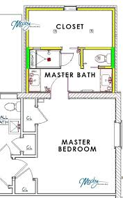 master bed and bath floor plans bedroom and bathroom addition master bathroom addition master