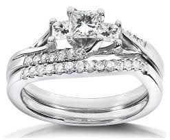 wedding rings for sale 1 carat princess wedding ring set for in white gold jewelocean