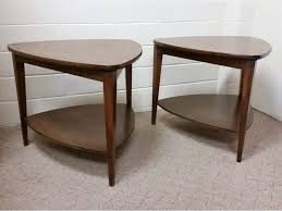 Mersman End Table Mid Century Modern End Tables Handsome Pair Of American Of