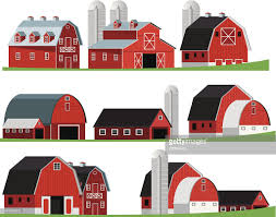 red barn vector art getty images