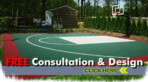 Backyard Basketball Court Atlanta Basketball Courts Southwest Greens