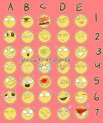 Meme Emoticon Face - emoji face meme challange whatever by tsubasa san23 on deviantart