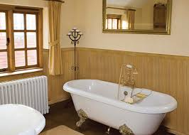 White Paneling For Bathroom Walls - bathroom wall panel and half wood wainscoting also white color