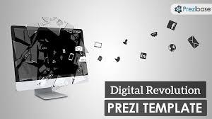 technology prezi templates collection prezibase