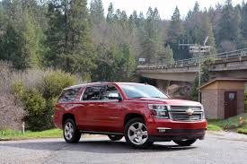 chevy suburban gmc and chevrolet full size suvs first drive