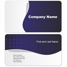 free business card design and print at home home design