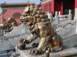 lion dog statue guardian lions
