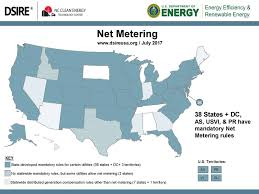 Dc State Map by Net Metering Seia