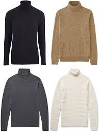 types of mens sweaters how to wear a roll neck in 5 stylish ways fashionbeans