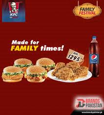 kfc family deals karachi and lahore
