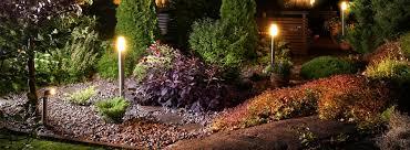 outdoor landscape lighting jackson area ambiance landscape